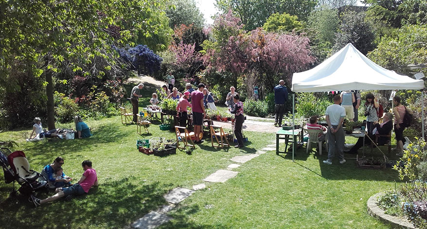 Community Event at Culpeper Community Garden in Islington