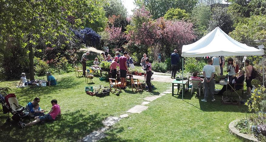 Community Event at Culpeper Community Garden in Islington