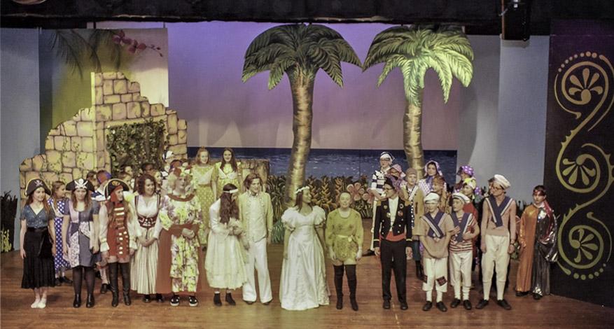 Performance at Aldridge Youth Theatre