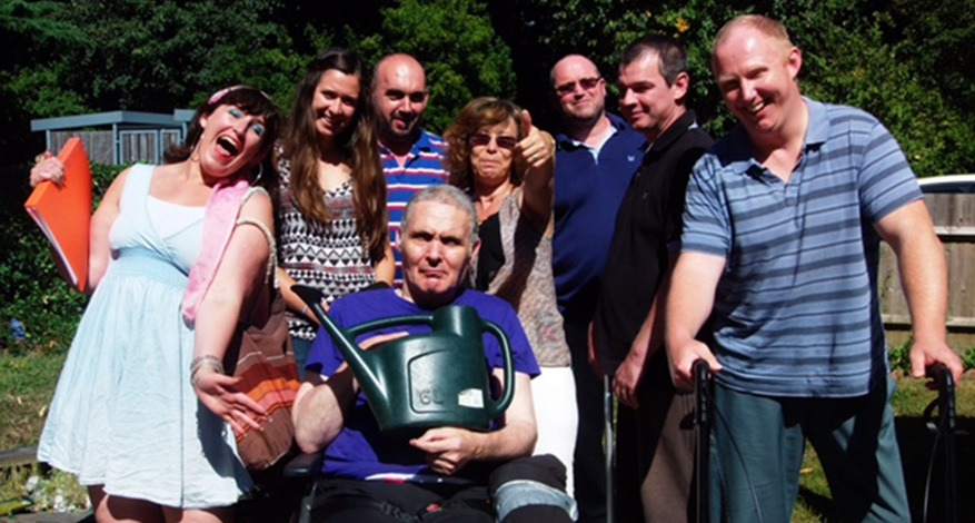 Group of gardeners at Headway