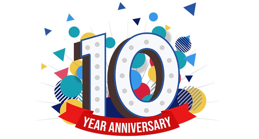 Ten years of giving logo is Large-10-graphic-with-red-anniversary-banner