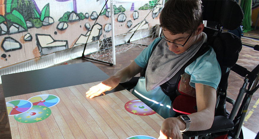 Interactive Sensory System for young people with disabilities