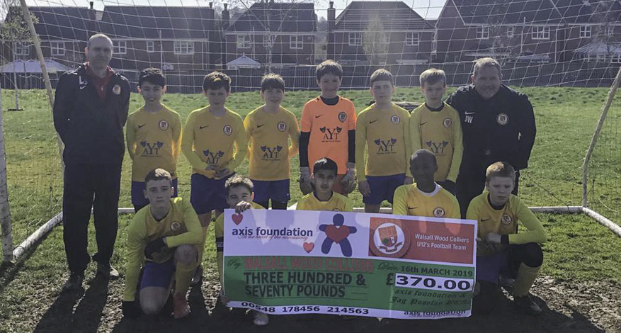 Walsall Wood Colliers Under 12s Football Team