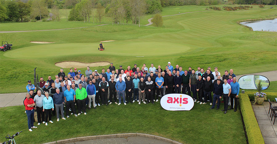 Group photo at Charity GOlf Day 2019