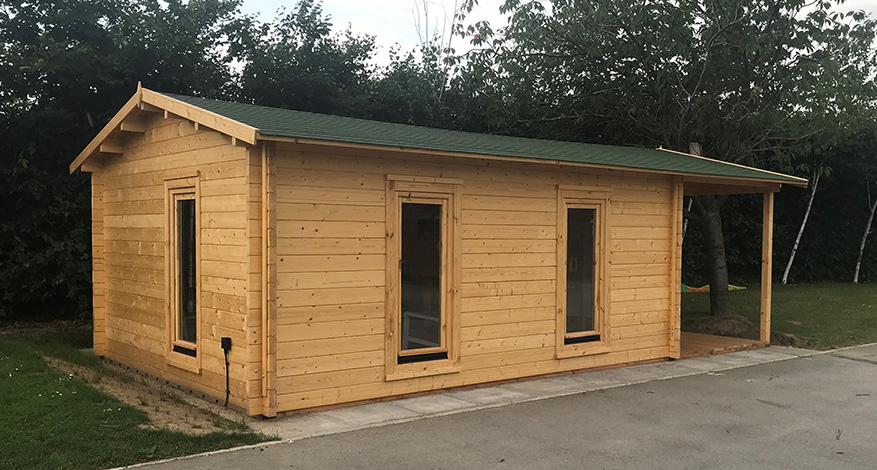 Sensory Log Cabin at Two Rivers special needs school