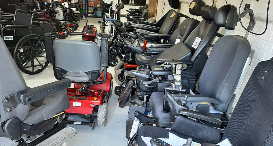 Fatory of Freedom Power Chairs