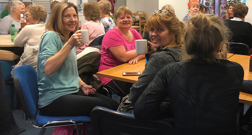 Combating Loneliness at the cafe Hutton Community Centre